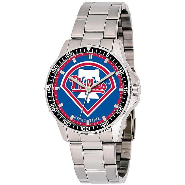 Philadelphia Phillies MLB Men's Coach Watch
