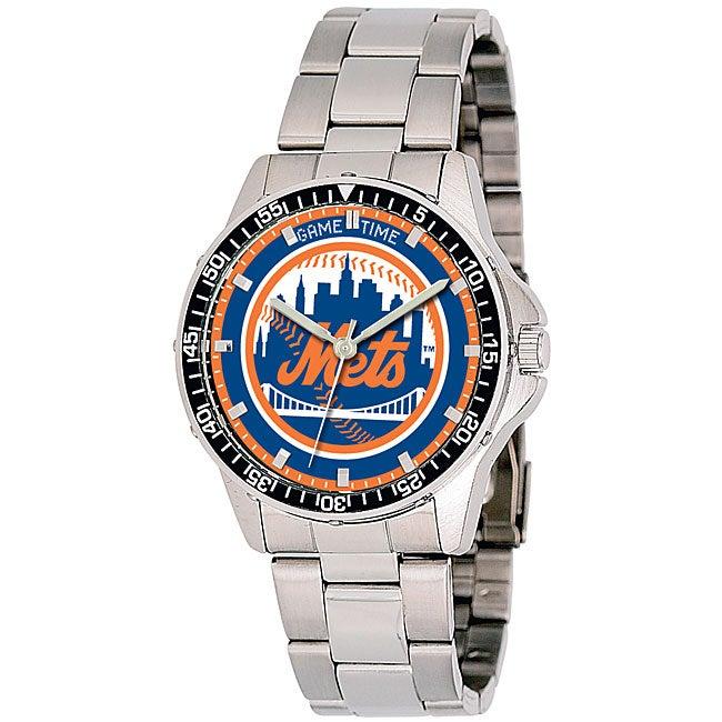 New York Mets MLB Men's Coach Watch
