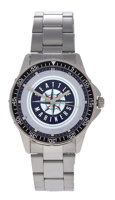 Seattle Mariners Men's Coach Series Steel Watch