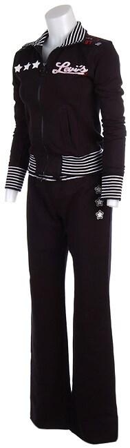 Levi's Juniors Stripes & Stars Hoodie & Sweat Pants Set