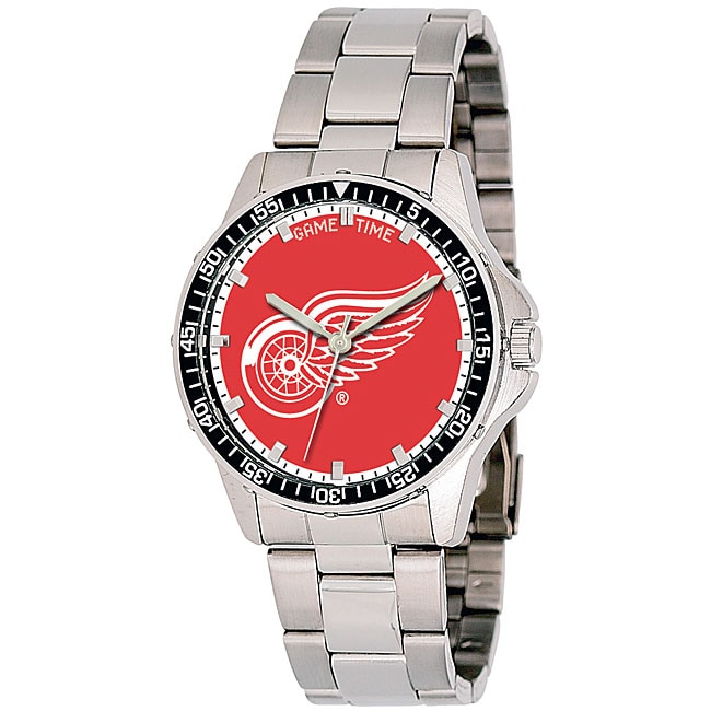 Detroit Red Wings NHL Men's Coach Watch