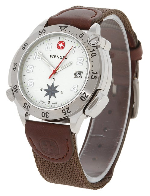 Wenger Men's G-3 Navigator Compass Watch