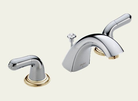 Delta Chrome Brass 8 Inch Widespread Faucet 493498 Shopping Great Deals On