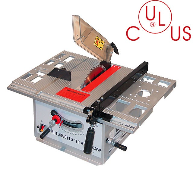 Td industrial 10 inch table saw with router attachement for 10 13 amp industrial bench table saw