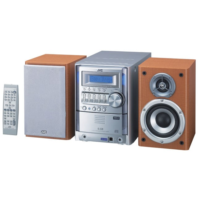 Jvc Fs-g5 180w 5-disc Cd  Mp3 Micro System  Refurbished  - Overstock Shopping