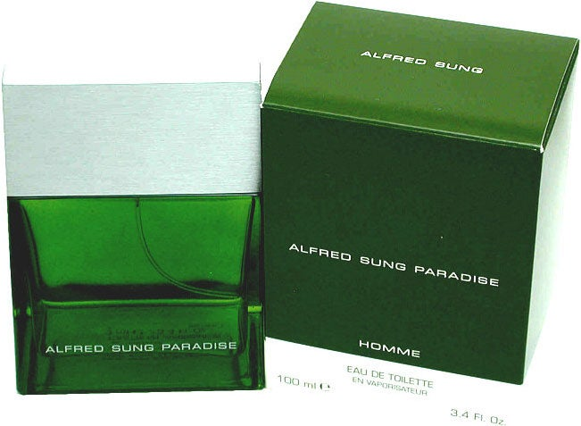 Paradise by Alfred Sung Eau de Toilette Spray 3.4-ounce for Men