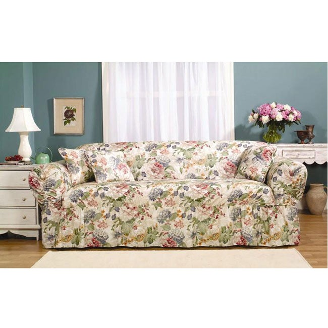 Hartsdale Multi Colored Sofa Slipcover 10160916