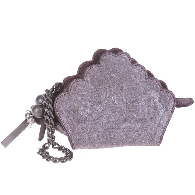 Fornarina Audrey Purple Clutch Handbag