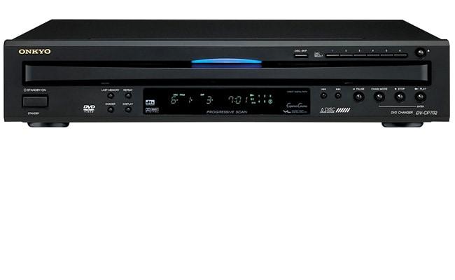 Onkyo DV-CP702 6-disc DVD/CD/MP3/WMA Carousel Changer (Refurbished)