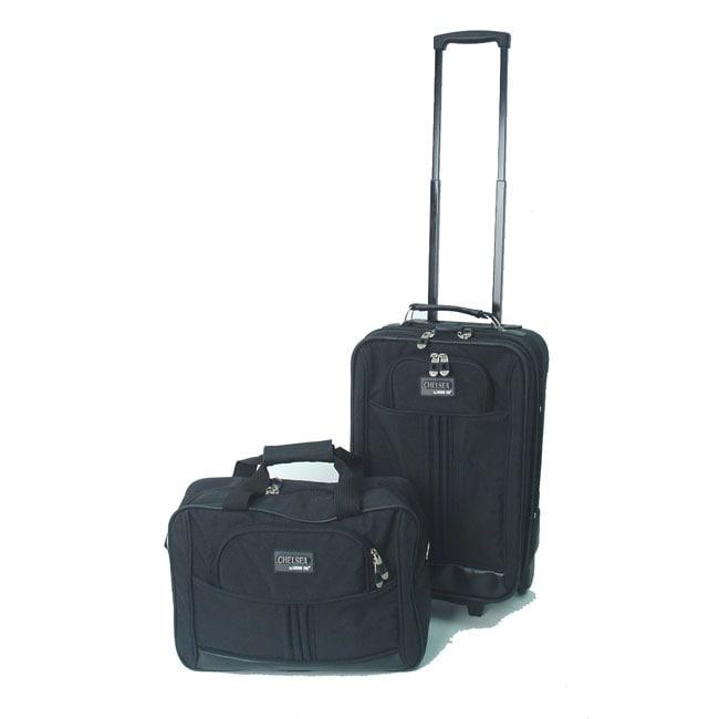London Fog Chelsea 2-piece Rolling Luggage Set