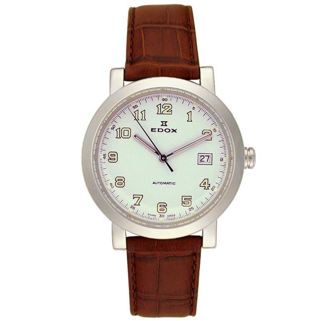 Edox Men's Swiss Automatic Watch