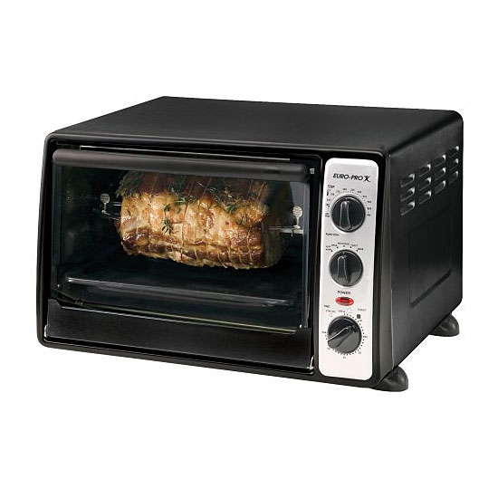 Euro Pro 1500w Convection Rotisserie Toaster Oven