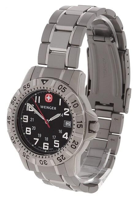 Wenger Men's Titanium Mountaineer Watch