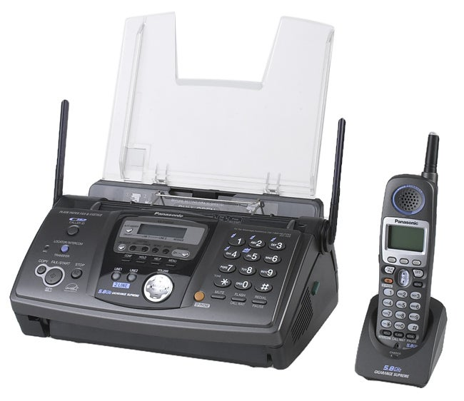 Panasonic KX-FG6550 Two-line 5.8GHz Cordless Phone/Fax/Copier (Refurbished)