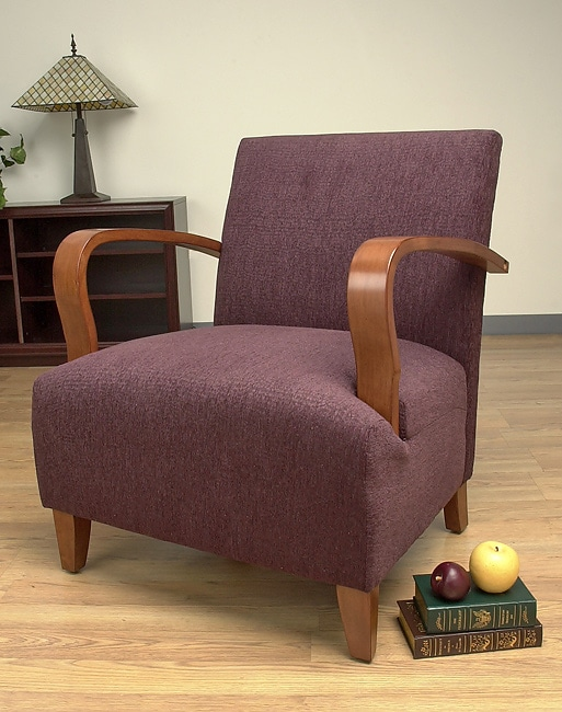 Port Magee Plum Bentwood Chair Overstock Shopping Great Deals On Living