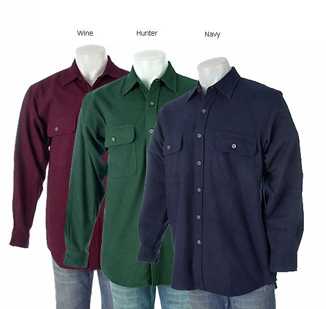 Moose Creek Men's Solid Chamois Shirt