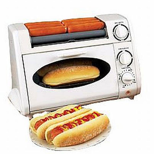 Party Maker Oven Hot Dog Griller Rotisserie Oven Toaster