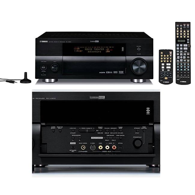 Home Cinema Yamaha 7.1 Yamaha Rx-v1600 7.1 Channel