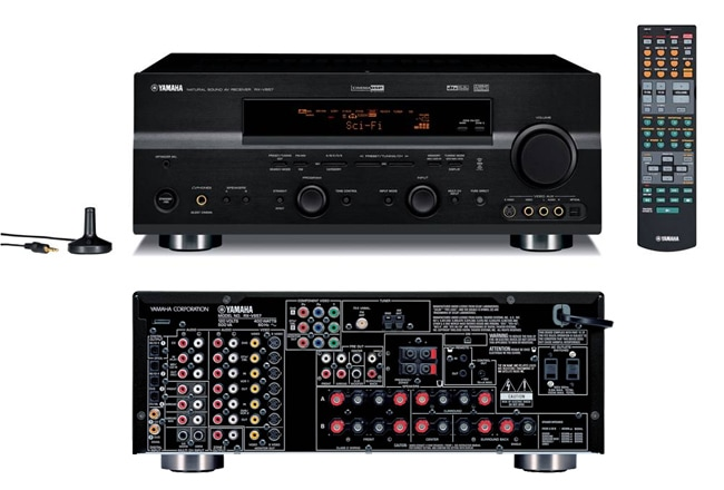 Yamaha RX-V657 7.1 Channel Home Theater Receiver (Refurbished)