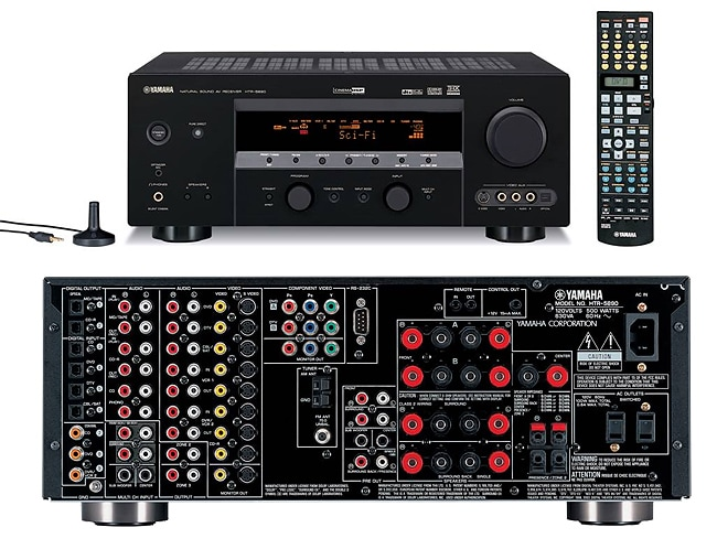 Yamaha HTR-5890 7.1 Channel Home Theater Receiver (Refurbished)