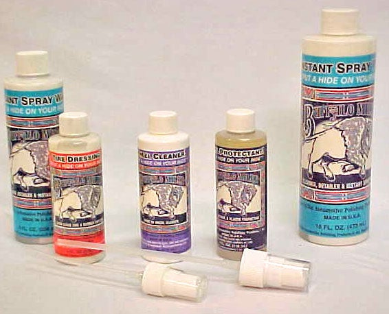 Buffalo Milke Spray Wax Kit