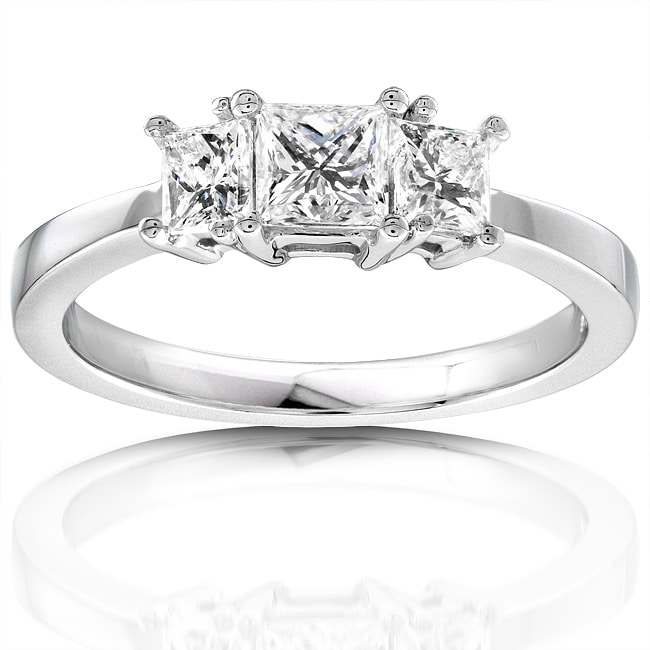 Eziba Collection 14k Gold 3/4ct TDW  Diamond Engagement Ring (H-I, I1-I2) at Sears.com