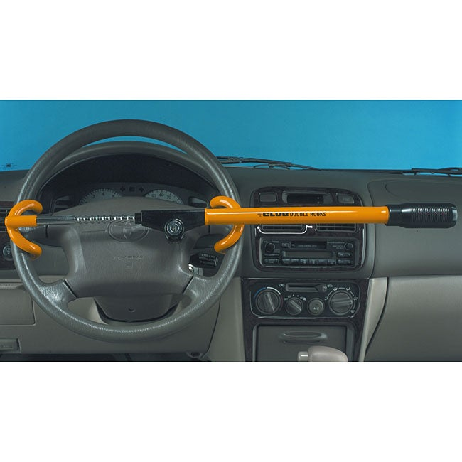 The Club LED Double Hooks Anti-theft Device