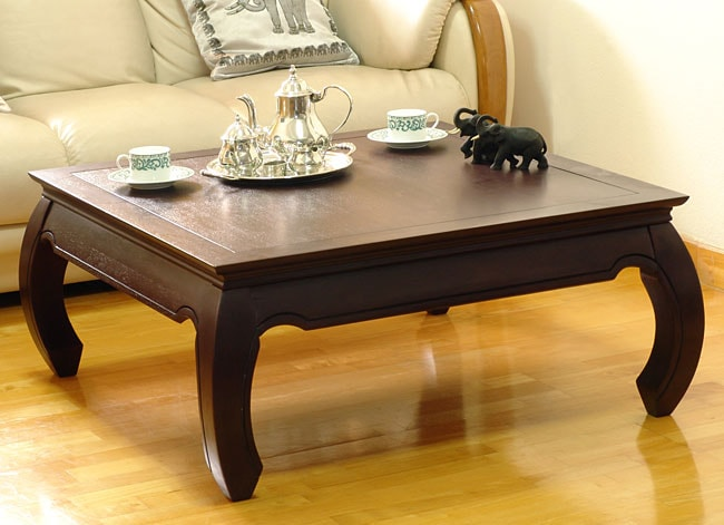 opium espresso square coffee table on popscreen