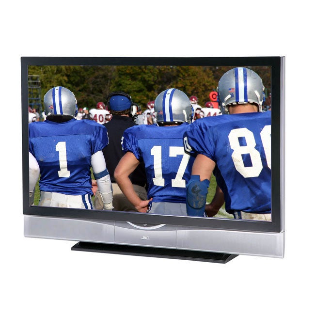JVC HD-61Z886 61-inch HD-ILA Rear Projection TV (Refurbished)