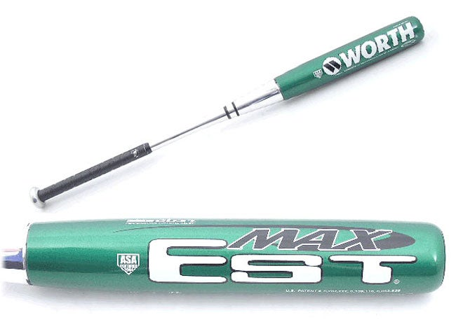 Worth EST Max Green (XGREEN) Slowpitch Softball Bat