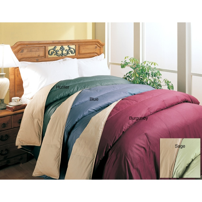 Reversible 240 Thread Count Down Alternative Comforter