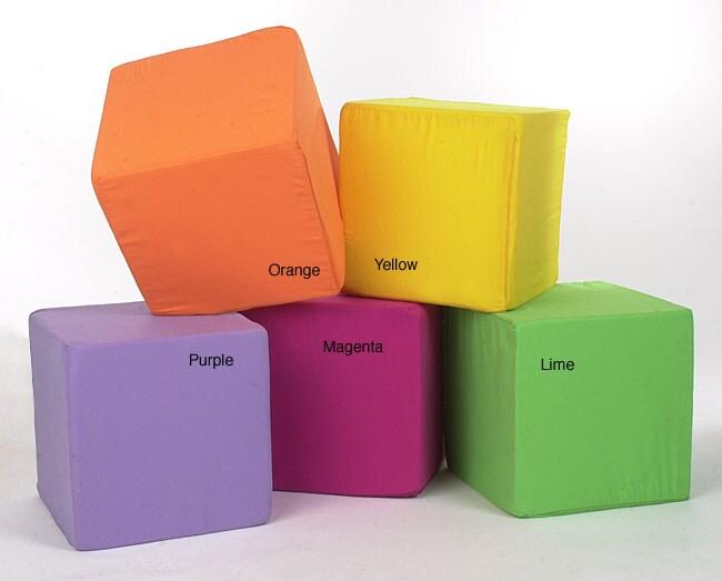 Neat Seat Foam Cube Ottoman