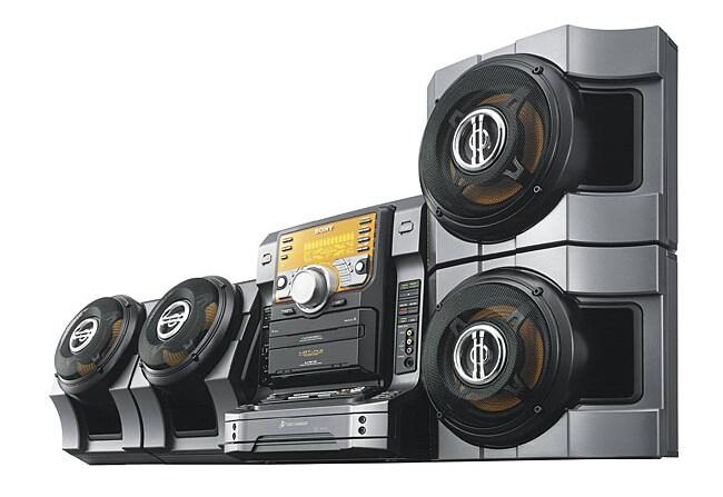 Sony LBT-ZX8 720 Watt Mini Hi-Fi Component System