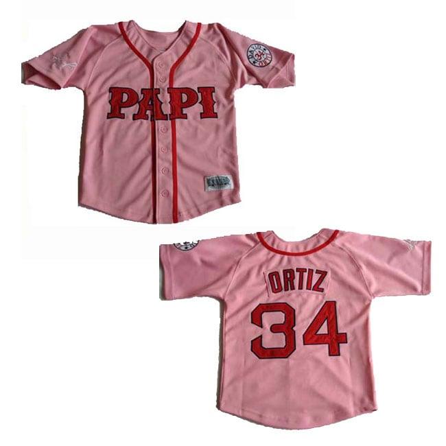 David Ortiz Pink 'Papi' Jersey