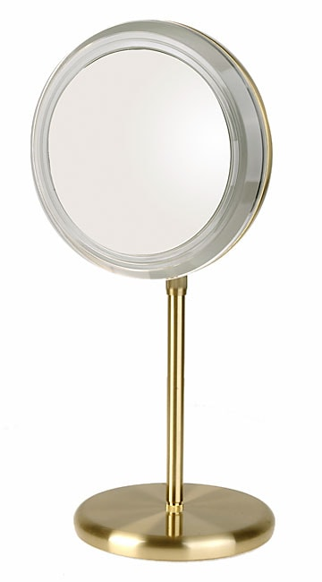 Vanity Mirror Light Height : Rialto 5x Adjustable Height Lighted Vanity Mirror - 10424759 - Overstock.com Shopping - The Best ...