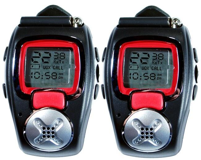 Xact 2-way FRS/GMRS Wristwatch Radio (2-pack)