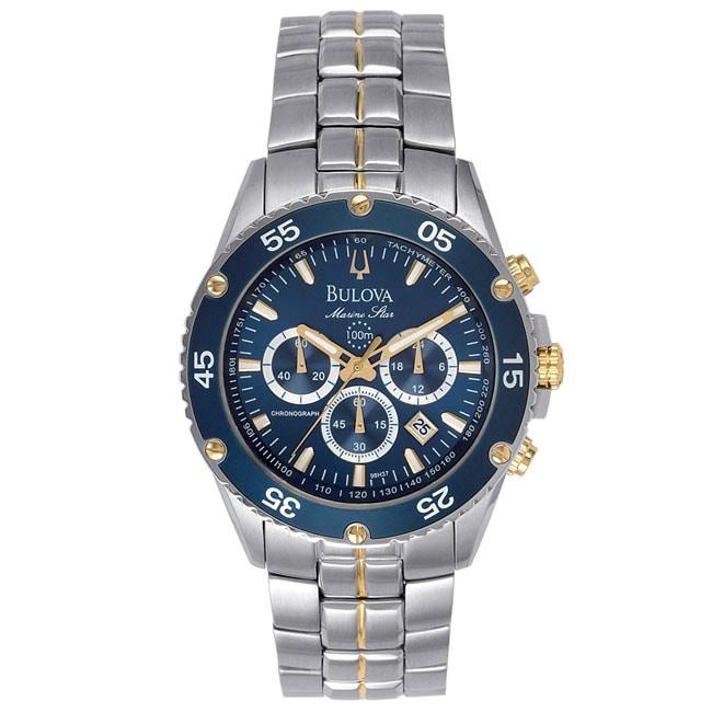 Bulova Marine Star Mens Chronograph Watch