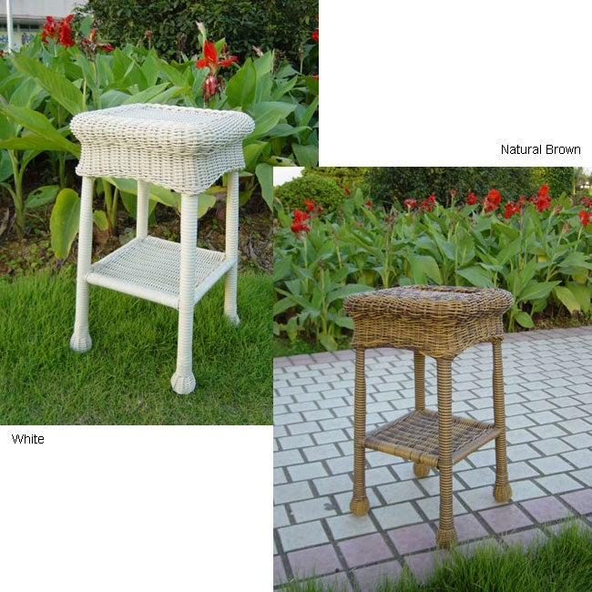 Pvc 12 inch 120 square steel outdoor side table for 12 inch square table