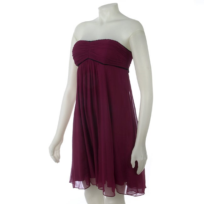 To The Max Strapless Babydoll Dress