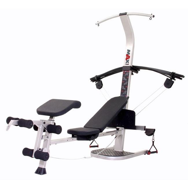 Max by weider advantage home gym machine refurbished