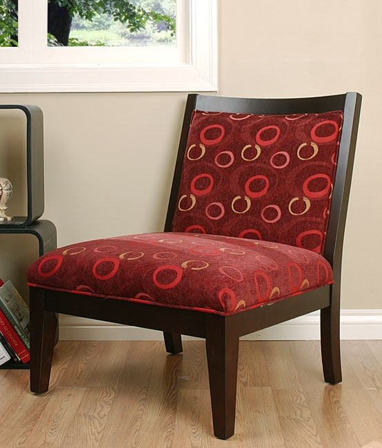 Overstock Living Room Chairs : Palmer Burgundy Accent Chair - 10500653 - Overstock.com ...