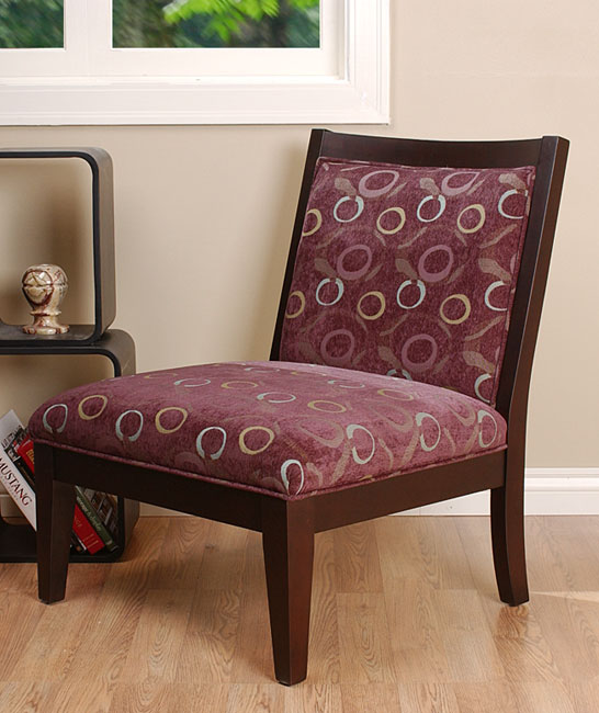 Palmer Plum Accent Chair 10500656 Shopping Great Deals On
