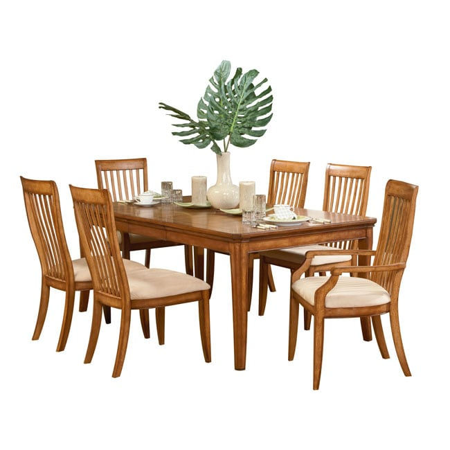 Versatility Expandable Dining Table with 4 Chairs  : L10511203 from www.overstock.com size 650 x 650 jpeg 36kB