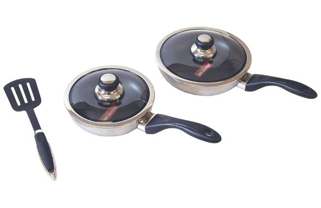 Ultrex Vantage Covered Frying Pan Set