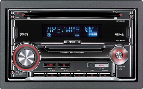 Kenwood Double Din CD/ MP3/ WMA Car Stereo