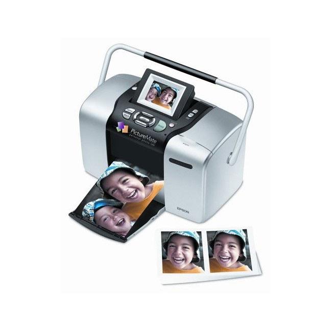 Epson PictureMate Deluxe Personal Photo Printer (Refurbished)