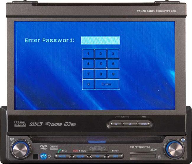 Jensen VM9512 Car CD/ DVD Player with 7-inch LCD