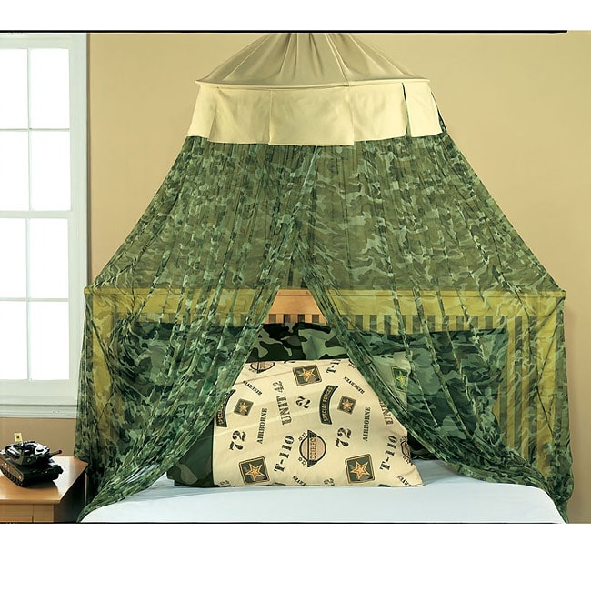 Camouflage Bed Canopy