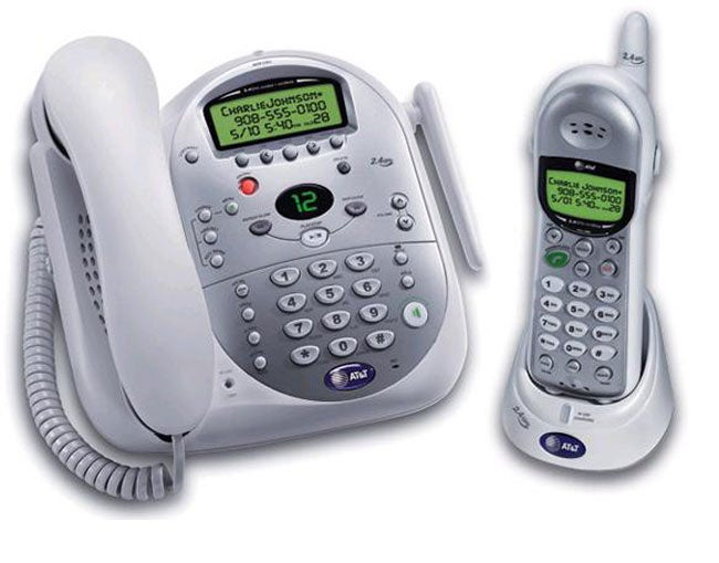 AT&T 1487 2.4GHz Corded/ Cordless Phone System (Refurb)