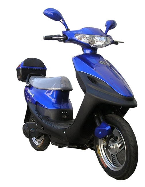 QElectric Expresso Blue Scooter